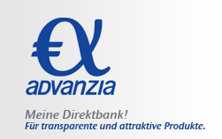Logo Advanzia Bank Tagesgeld
